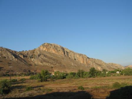 Kletterfelsen Nähe Araxos